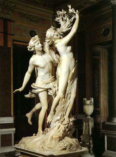Apollo and Daphne, Bernini.