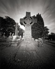 Muiredach's High Cross is a high cross from the 10th or possibly 9th century, located at the ruined monastic site of Monasterboice, County Louth, Ireland. There are two other high crosses at Monasterboice.  Muiredach's cross has been described as the most beautiful specimen of Celtic stonework now in existence;[citation needed] and the crosses at Monasterboice have been stated to be Ireland's greatest contribution to European sculpture