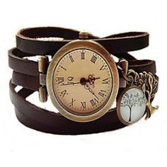 Wrap Watch Vintage Tree II Bracelet Watch women Wrist Watch relogio feminino hommes montre
