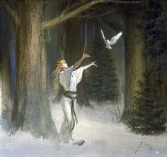 Winter Returning by Michael Whelan