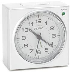 Seiko QHE086SLH Bedside Alarm Clock >>> Want to know more, click on the image. (This is an affiliate link) #Clocks