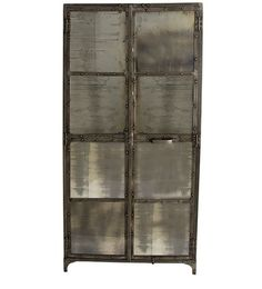 Antique Tall Mirror Cabinet