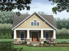 The Greenbridge Craftsman Home has 3 bedrooms and 2 full baths. See amenities for Plan 077D-0139.