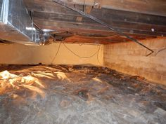 Crawlspace Encapsulation Before Crawl Space Encapsulation, Before And After Pictures