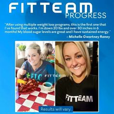 Boost your metabolism and say goodbye to BELLY FAT!  Let me share the winning combination with you, Fitsticks,  Fit 5 meal plan, and amazin support  Visit my page www.fitteam.com/jmj and change your life!!