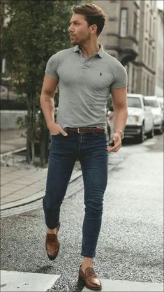 48 spring chic outfits for men's street style 35 is part of Polo shirt outfits - 48 spring chic outfits for men's street style 35 Polo Shirt Outfits, Polo Shirt Style, Polo Outfit, Mens Polo T Shirts, Flannel Outfits, Shirt Men, Plaid Flannel, Mens Sweater Outfits, Blue Shirt Outfit Men