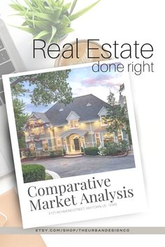 This Comparative Market Analysis template is a fully completed and handy guide with oodles of information for your clients when looking to sell their home. This beautifully designed template is ready to use as it is, or can be edited easily with Canva.com to suit your brand or local guidelines. Make a lasting impression with your clients and stay competitive in the real estate world with professionally designed items. Simply add in your own company logo, photo, and additional text if needed. Marketing Tools, Social Media Marketing, Real Estate Templates, Real Estate Buyers, Handmade Market, Cover Pages, Real Estate Marketing, Home Buying, Instagram Story
