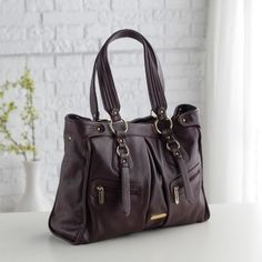 Timi and Leslie Dawn Convertible Diaper Bag - Burgundy. This is THE one <3