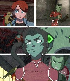 Young Justice Beast Boy GIF