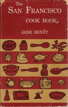 The San Francisco Cook Book Mini Books Vintage Cooking Kitchen And