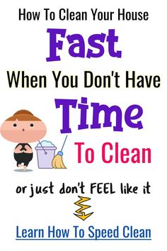 , Quick cleaning hacks and tips for speed cleaning , Simple and QUICK cleaning tips for your home to make your house clean QUICKLY. How to clean your house quickly when you don't have time to clean or do. Speed Cleaning, Car Cleaning Hacks, Deep Cleaning Tips, Cleaning Checklist, House Cleaning Tips, Cleaning Schedules, Cleaning Lists, Weekly Cleaning, Spring Cleaning
