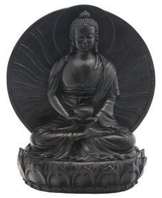 Black Medicine Buddha Statue