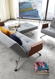 Danish Sofa, Innovation Living, Sofa Manufacturers, Scandinavian Design, Sofas, Charcoal, Living Room, Chair, Interior