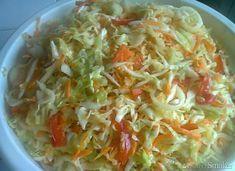 Surówka w słoiki-zrobiona Cabbage, Salads, Food And Drink, Vegetables, Recipes, Future, Film, Drinks, Diet