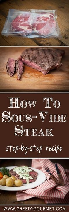 A step-by-step guide how to sous-vide a steak. It's easy and the result is amazing!