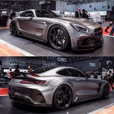 Mercedes amg gt decked out  posted by @tut_supercar on Instagram