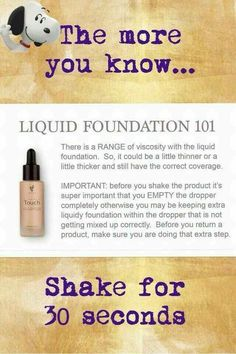 Younique Liquid Foundation also called liquid gold or photoshop in a bottle…