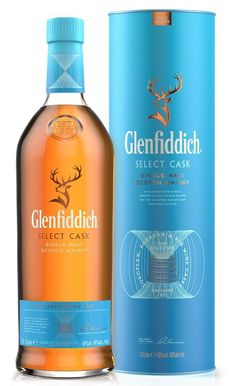 Glenfiddich Select Cask, Speyside Whiskey In The Jar, Cigars And Whiskey, Irish Whiskey, Alcohol Spirits, Wine And Spirits, Booze Drink, Alcoholic Drinks, Scotch Whisky, Strong Drinks