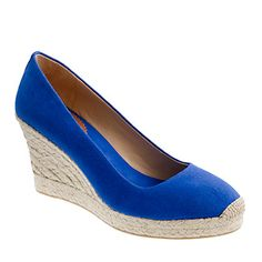 Yep. I need to have these shoes.    Seville Espadrille (J.Crew)