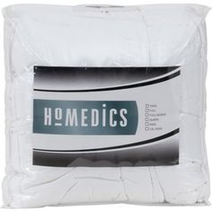 HoMedics 300-Thread-Count Down-Alternative Bedding Comforter, White