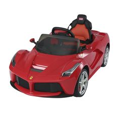 Aosom 12 V Ferrari LaFerrari Kids Electric Ride On Car