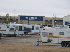Many of Williston's workers are forced to live in RVs in parking lots