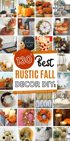 Rustic Fall Decor, Fall Home Decor, Cool Diy, Fall Crafts For Adults, Fall Projects, Pumpkin Decorating, Holiday Decorating, Creations, Decor Ideas