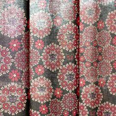 モダンデザインのインテリアファブリック/Permanence/SP FABRIC × RECORDS Bohemian Rug, Rugs, Fabric, Decor, Farmhouse Rugs, Tejido, Tela, Decoration, Cloths