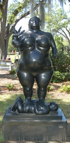 """""""Mother and Child"""" by Fernando Botero 