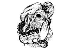 28 Skull with Rose Tattoo Designs 125 harley davidson tattoos unleash the biker within you sugar skull tattoo line drawing rose tatoo skull and roses tattoo tattoo ideas pintere. Tumblr Coloring Pages, Coloring Pages For Girls, Disney Coloring Pages, Tattoo Coloring Book, Christmas Tattoo, Halloween Coloring Pages, Sugar Skull Tattoos, Disney Colors, Tatoo