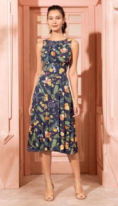 Bohemian Midi Dress - Shoe Tutorial and Ideas Casual Summer Dresses, Trendy Dresses, Modest Dresses, Spring Dresses, Women's Fashion Dresses, Cute Dresses, Beautiful Dresses, Outfit Summer, Essentiels Mode