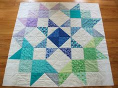 The Drawing Board: Moda Love Blog Tour. Kate Spain's quilt with her fabric Horizon. Love the colors and pattern. Pattern is a free downloadable too!