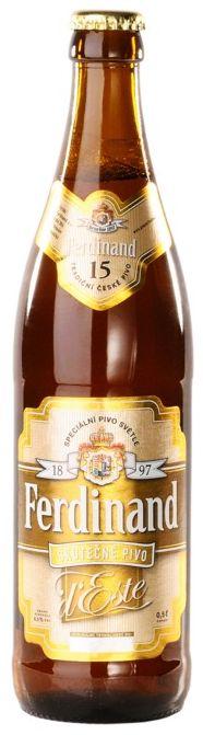 Cerveja Ferdinand Special Light Beer d´Este 15%, estilo Oktoberfest/Marzen, produzida por Pivovar Ferdinand, República Tcheca. 6.5% ABV de álcool.