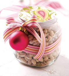 Decorated Treat Jar - Gift Idea