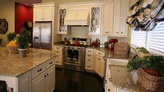 cream cabinets dark wood floors   love off white cabinets with dark wood floors   home decor