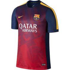 Primera camiseta Entrenamiento del FC Barcelona 2015 2016