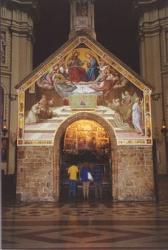 Assisi, Italy....my husband an I took communion right there...it was very special.