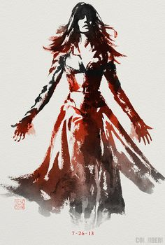 New 'Wolverine' Sumi-e Poster Features Jean Grey - Latino-Review.com