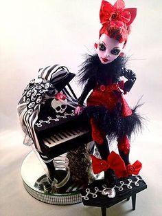 OOAK Monster High Custom Doll so creepy cool