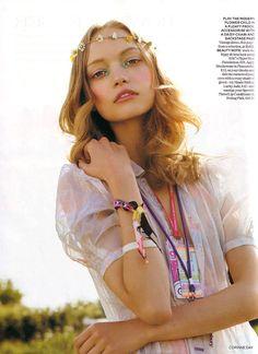 """Glastonbury"", Vogue UK Oct05"
