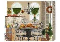 sunroom Thanksgiving by redadie   Olioboard