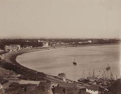 Panorma of Bombay (Mumbai) – 1870 - Old And Vintage Photographs Of Mumbai Bombay…
