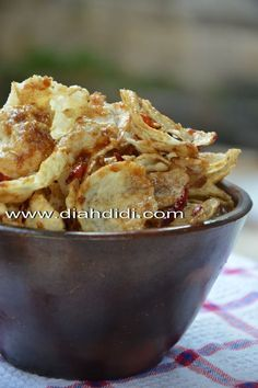 Diah Didi's Kitchen: Emping Melinjo Pedas Manis