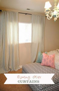 Easy Sew Curtains (I