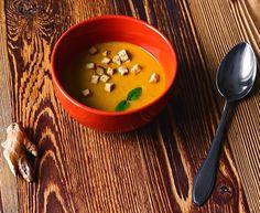 [ Przetwórstwo #24 ] Rozgrzewająca zupa imbirowa - krem