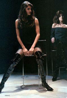 Helena & Stephanie - Gianni Versace 1991
