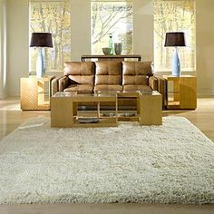 Our beautiful Comfort Shag Area Rug is a modern take on a classic. Sink your toes into the exceptional softness of this rug's thick, rich pile. Expertly hand-tufted Woven from mod-acrylic Ideal for adding an aura of coziness to any room Dark Carpet, White Carpet, Patterned Carpet, Modern Carpet, White Shag Area Rug, Cheap Carpet Runners, Modern Area Rugs, Carpet Design, Bedroom Colors
