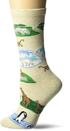 K.Bell Flip Cuff Camouflage Print Brown Ladies Womens Crew Socks New