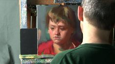 Oil Painting Portrait Demonstration by David Shevlino