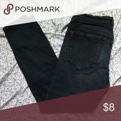 """Urban Outfitters skinny jeans BDG for Urban Outfitters ankle length skinny jeans in dark wash cotton spandex blend. Waist measures 12.5"""" and hips 14.75"""" laid flat with 24"""" inseam and 4.75"""" leg opening when laid flat. No rips tears or stains Urban Outfitters Jeans Ankle & Cropped"""